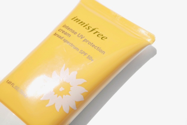 Innisfree Intense UV Protection Cream Sunscreen Review
